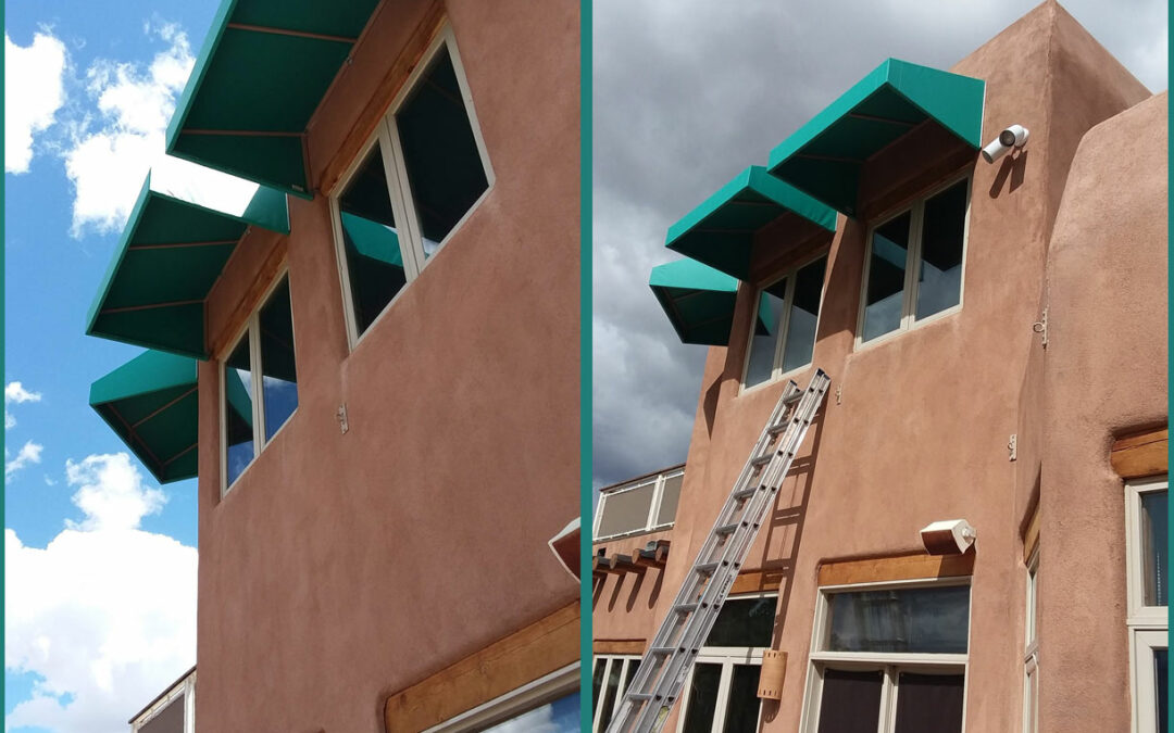 Natural Cooling with Awnings