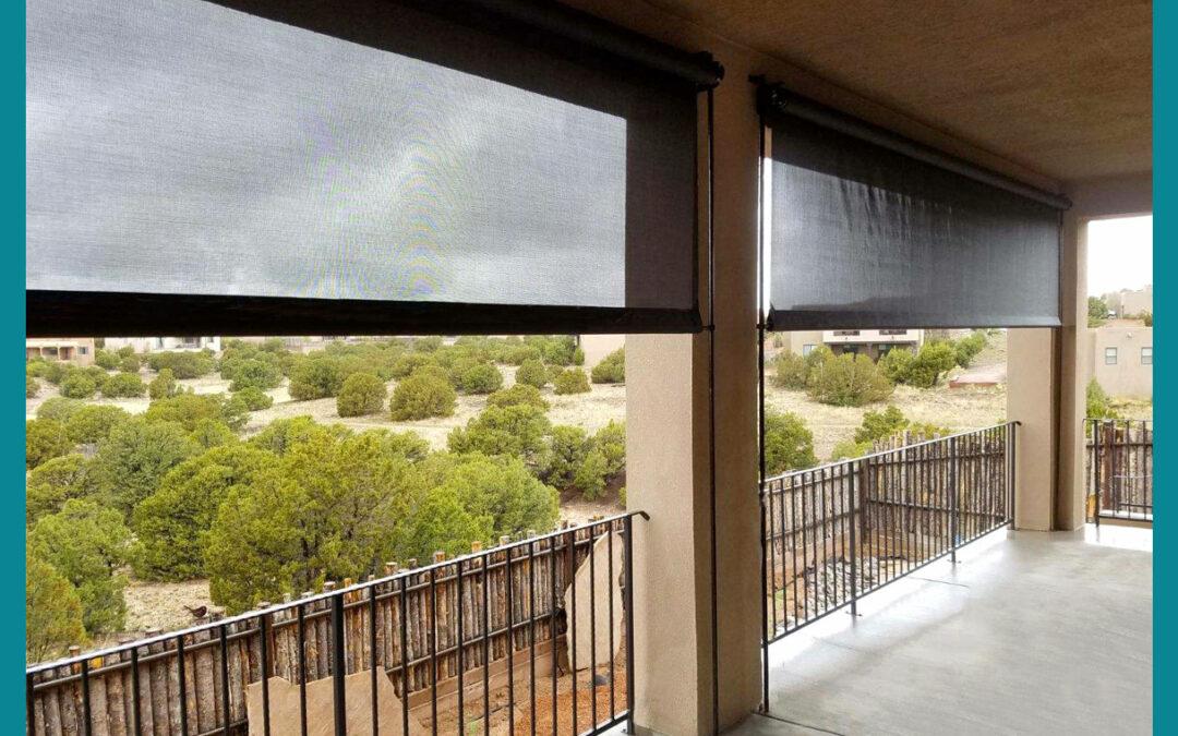 Outdoor Screens for Desert Living