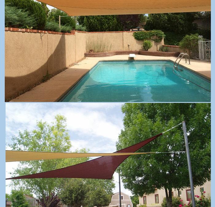 Freestanding Shade Sails